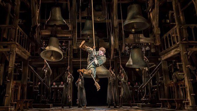 """Quasimodo in """"Der Glöckner von Notre Dame - Das Musical"""""""